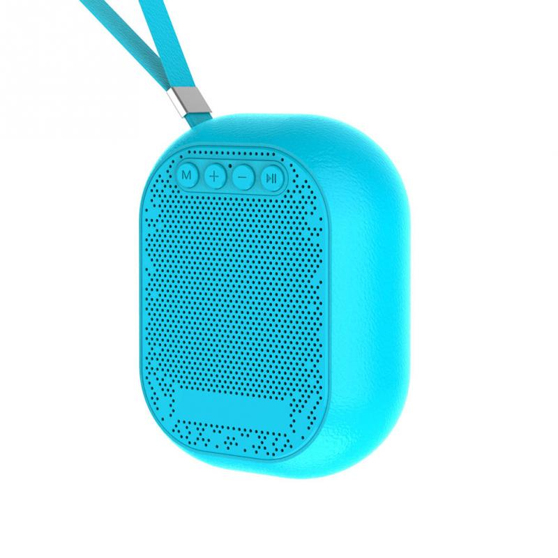 3 Colors Fashion Professional Loudspeaker Box Mini Wireless Bluetooth Subwoofer With Hanging String Stylish Rgift