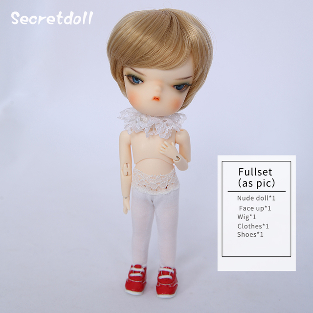 OUENEIFS Person04 Secretdoll 1/8 BJD SD Dolls Model Girls Boys Resin Figures High Quality Toys For Birthday Xmas Gift
