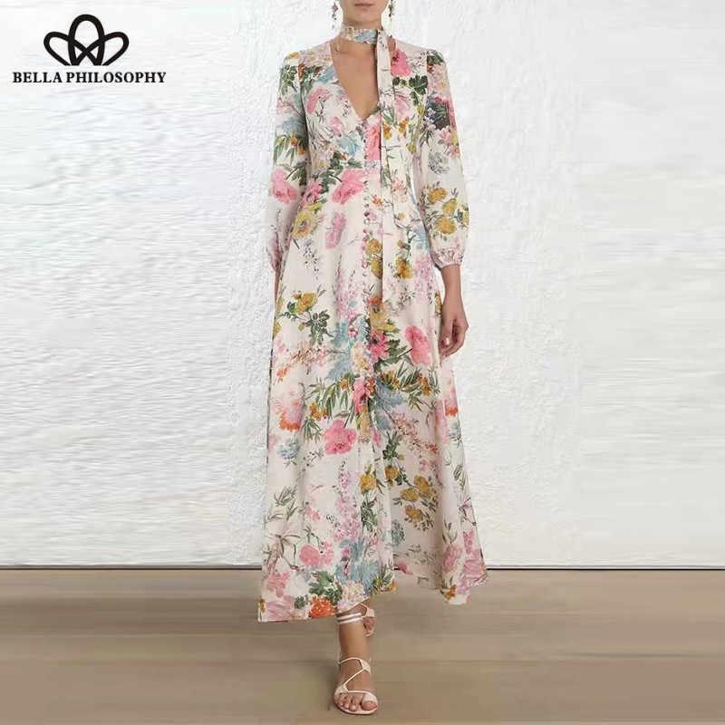 7411030c85504 heydress 2019 Long Sleeve Sexy Boho Dress Vintage Print Floral ...