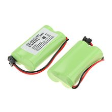 1/2/4/8 Pack 1400mAh 2.4V Ni-MH HOME USE Cordless Phone Battery for Uniden BT-1007 BT-105(China)