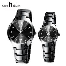f295655b061c Superior de la marca de lujo de amante de reloj par impermeable hombres  mujeres parejas relojes de cuarzo reloj de pulsera hombr.