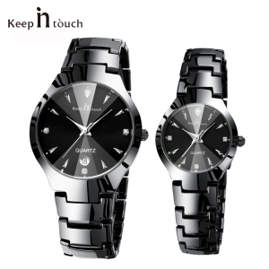 Top Brand Luxury Lover Watch Pair Waterp