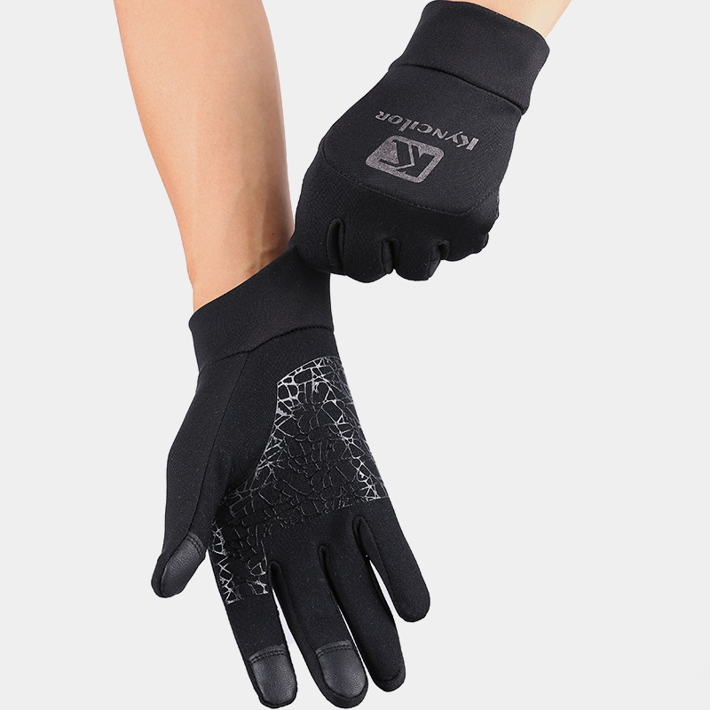 Unisex Heated Ski Gloves Waterproof Wind-proof Thermal Touch Screen Fleece Cycling Gloves Outdoor Sport Cycling Snowboard Gloves