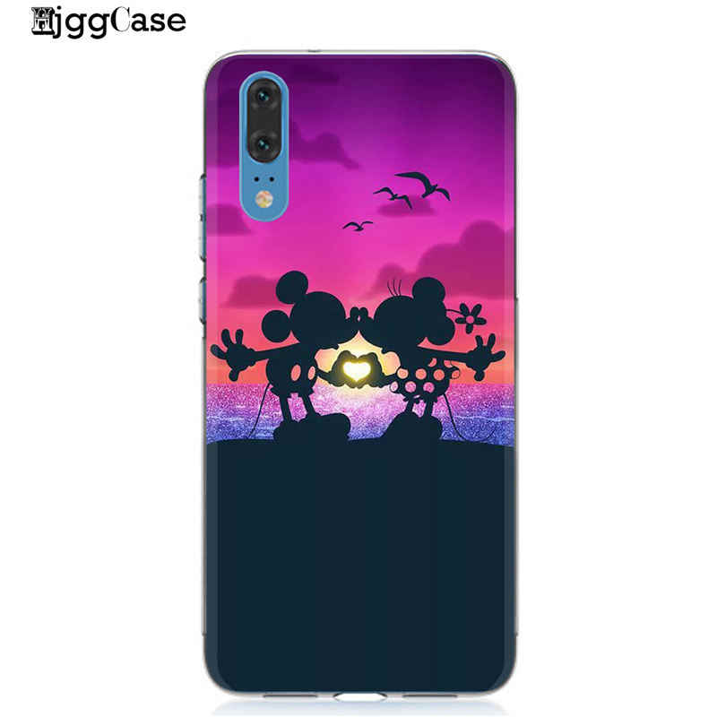 Mickey TPU Soft Case for Huawei Mate 10 20 Lite Pro P20 P10 30 Plus Lite Minnie Cover For Huawei P20 Lite Case Coque Mate 20 Lit