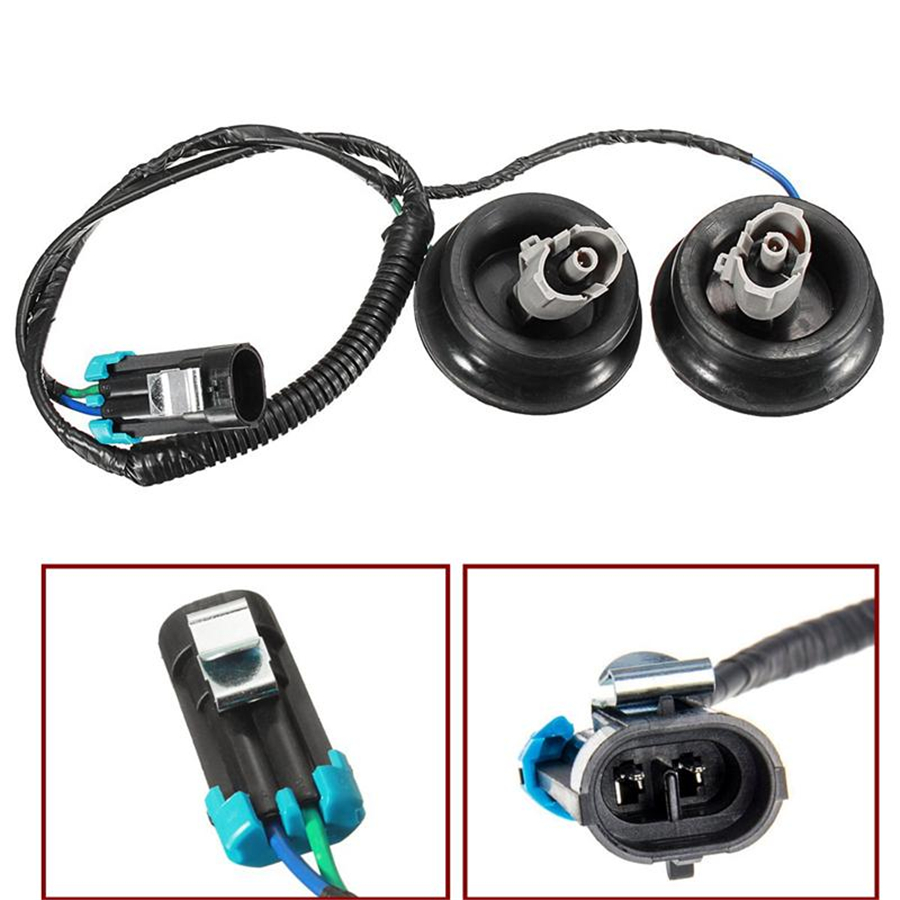small resolution of 12601822 10456603 auto replacement parts new knock sensor wire harness kit for cadillac chevy gm