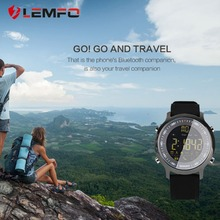 LEMFO EX18 Sport Smart Watch 5 ATM OR IP67 Standard Waterproof, Bluetooth 4.0, Call, SMS Reminder Monitor, Pedometer For Android & iOS