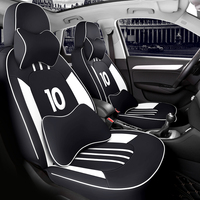 Customized Luxury Leather car seat cover for car seat cover For Volkswagen vw passat b5 polo golf tiguan Beetle CC touareg