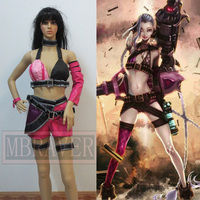 LOL Loose Cannon Jinx Cosplay Costume Custom Made Any Size