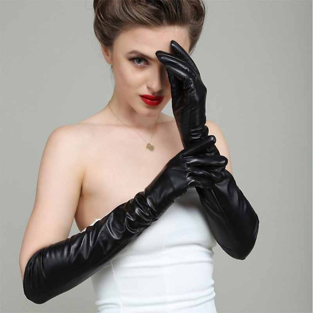 Sexy lange Handschuhe