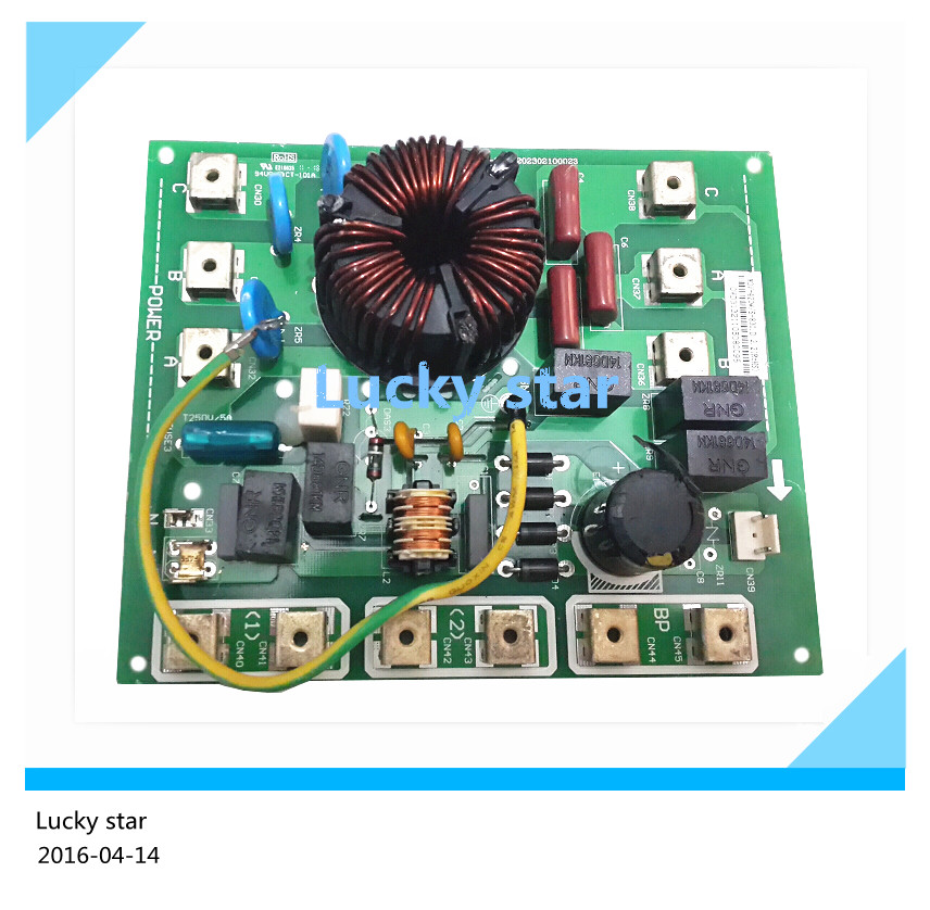 95% new for Air conditioning computer board circuit board MDV-420W/S-830 good working  95% new good working for midea air conditioning computer board mdv d22t2 d 1 4 1 mdv d22t2 board