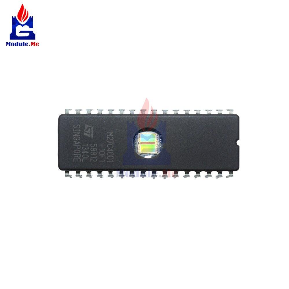 5PCS NEW  M27C4001-12F1 27C4001 ST IC EPROM UV 4MBIT 100NS 32CDIP
