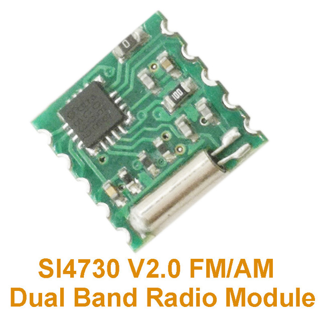 US $4 12 6% OFF SI4730 V2 0 FM/AM Dual Band Radio Module-in Integrated  Circuits from Electronic Components & Supplies on Aliexpress com   Alibaba