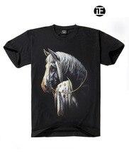 Newest 2016 Good Quality Tops&Tees Casual Shirt Hip Hop Horse T-Shirt Mens Fashion 3D T Shirt Factory Price Men'S T-Shirts Men