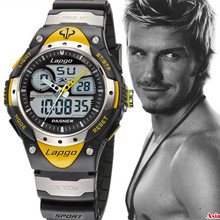 Hot Sale Relojes Hombre Pasnew Super Diving 100 meters Waterproof Quartz Led Outside Sport Watches Men Reloj Army Hombre