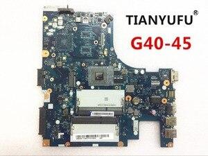 Image 1 - Placa mãe para lenovo G40 45, placa mãe para laptop aclu5 aclu6 NM A281 com cpu (para amd cpu) ddr3 testado 100% trabalho