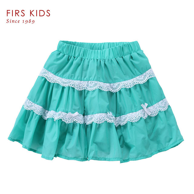 FIRS KIDS 2016 New style high quality cotton girl skirt baby tutu skirts kids over hip skirt baby girls mini skirts