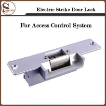 Stainless Door Security Safely 12V NC NO Door Electric Strike Lock For Access Control System