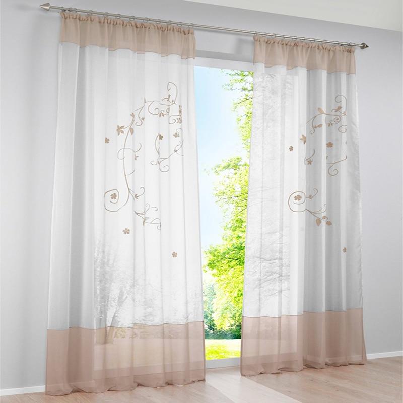2016 nieuwe gordijnen voor woonkamer luxe 3d borduurwerk for Gordijnen voor slaapkamer