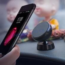 """Giratória de 360 Graus de Ângulo Magnético Forte Carro Painel Frontal 3.0 """"-5.5"""" de Navegação GPS Do Telefone Móvel Livremente Catcher Kits de Acessórios"""