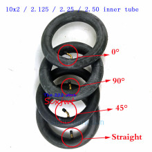 Внутренняя трубка 10X2/2,125/2,25/2,50 с изогнутым/прямым клапаном для трехколесного велосипеда Schwinn Kids 3 коляска на колёсах скутер 10''