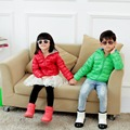 90% duck down ultra thin boys' jacket  2016 new fashion boys and girls' down coat children down & parkas candy color jacket