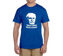 """Claudio Ranieri """"Dilly Ding, Dilly Dong"""" T Shirt Men Short Sleeve  100% cotton T-shirts Leicester fans gift 0228-12"""