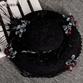 Womens Party Hats Feather Flowers Vintage Lace Hats Elegant Ladies Bridal Wedding Hats SQN021