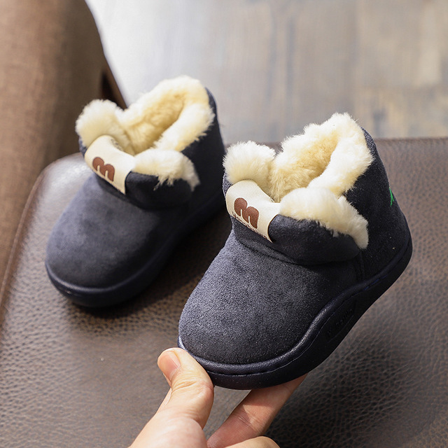 Winter Kids Baby Home Boots Shoes Children