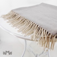 Baby Alpaca Throw Blanket 100 Premium Baby Alpaca Wool Gray Ethically Sourced The Perfect Gift For