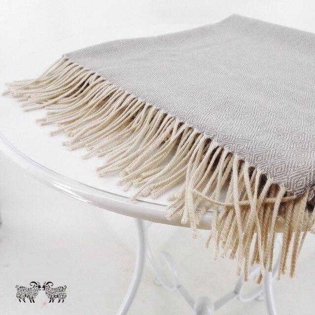 Baby Alpaka Decke 100% Premium Baby Alpaka wolle Grau Ethisch Zu ...