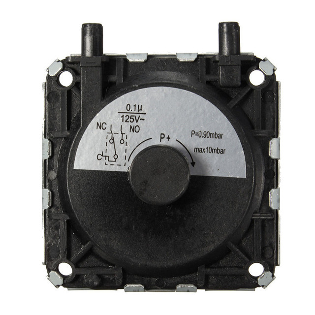 AC 2000V 50Hz 60S Durable In Use Strong Exhaust Gas Water Heater Repair Parts Air Pressure Switch