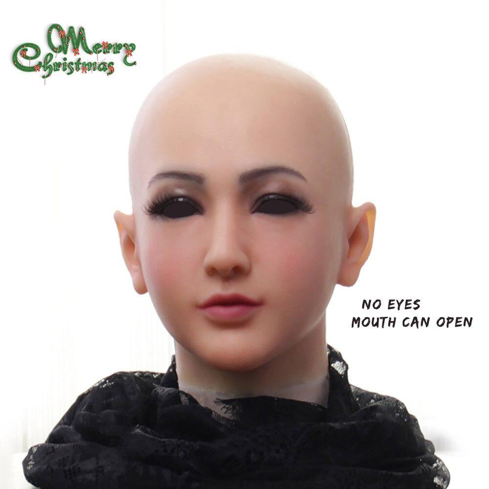 EYUNG nouvelle annonce Claire Déesse Top mascarade silicone femelle crossdresser visage drag queen trans faux seins seins ladyboy