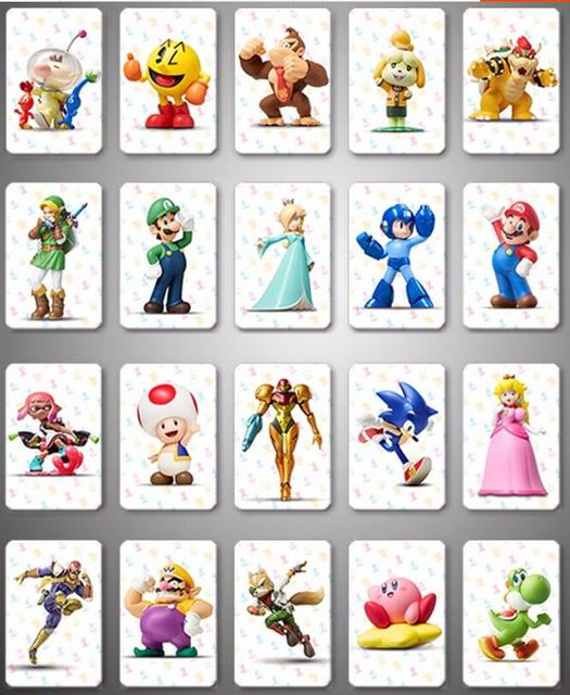 20pcs NFC NTAG215 Card Work For Kart 8 deluxe NFC Printing Card