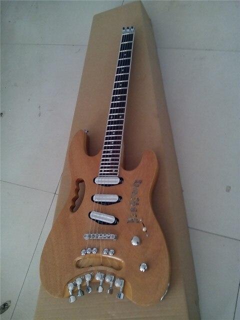 Custom Handmade Quality headless electric guitar