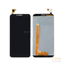For Alcatel One Touch Idol 2 OT6037 6037 6037Y LCD Display Panel Touch Screen Digitizer Glass Assembly Replacement Free Shipping