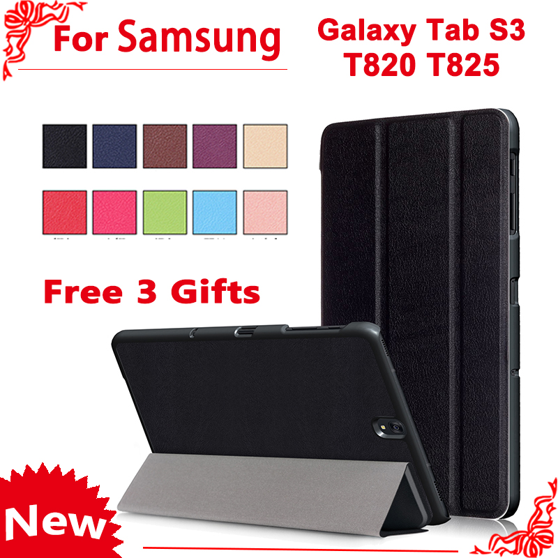 High Quality Cover Case for Samsung Galaxy Tab S3 S 3 TM T820 T825 T829 9