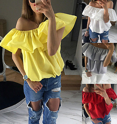 New Summer Women Tops Casual Sleeveless Blouses Fashion Women Cutton Blouse Solid Blouses Ruffles Loose Blouses