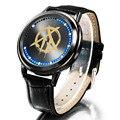 LED 30 ATM impermeable reloj Hombres Xingyunshi Cuero Marca de Lujo Fecha reloj Digital de Los Hombres Ocasionales de Pulsera relogio masculino