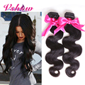 Beautiful Peruvian Virgin Hair Body Wave Hair Extensions 8A V SHOW Beauty Hair Products Human Hair Weave Peruvian Body Wave