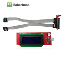 3D reprap lcd module reprapdiscount smart controller LCD 2004 display compatible Ramps1.4 LCD Panel good durability/stability