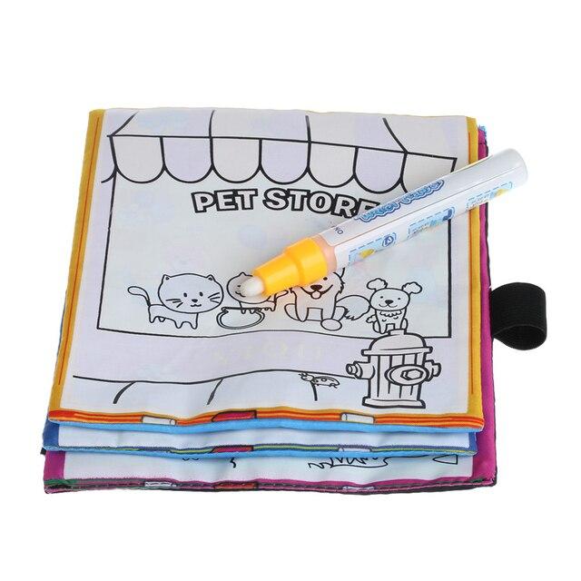 Kinder Magie Wasser Zeichnung Buch Mit Stift Tier Färbung Wasser ...