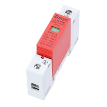 цена на 1pcs high quality  SPD 420V 40KA~80KA House Surge Protector Protective Low-voltage Arrester Device   1P