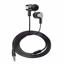 Simple In-ear Earphone For phone with Mic Environmental protection aluminum alloy wired Earphones for iphone xiaomi huawei meizu