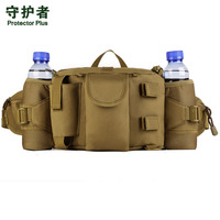 Men Waterproof Nylon Fanny Waist Pack Bag Military Travel High Capacity Water Bottle Shoulder Messenger Bags