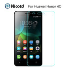 Honor Play 4C Screen Protector 9H 2.5D Tempered Glass Protective Film For Huawei G Play Mini Honor 4C CHM-U01 honor4c Dual