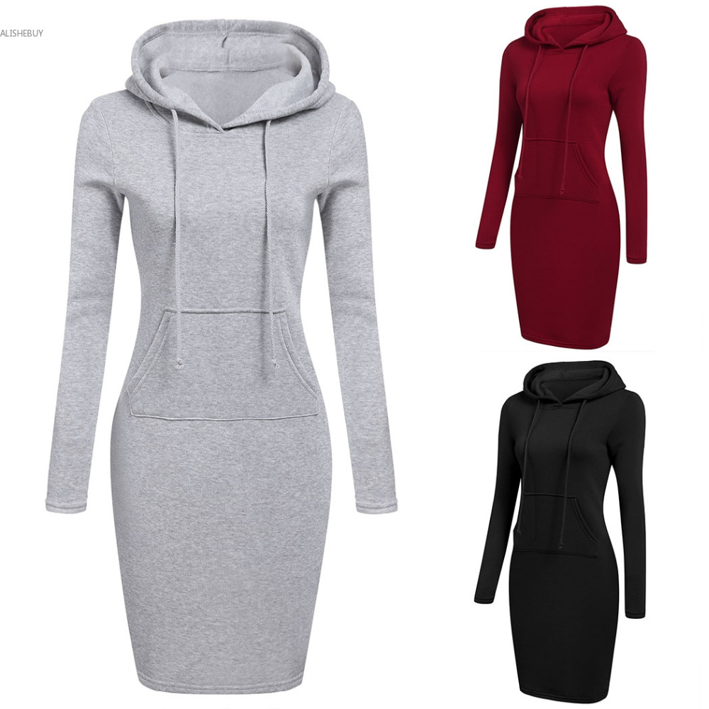 Aliexpress bodycon dress with hoodie from usa