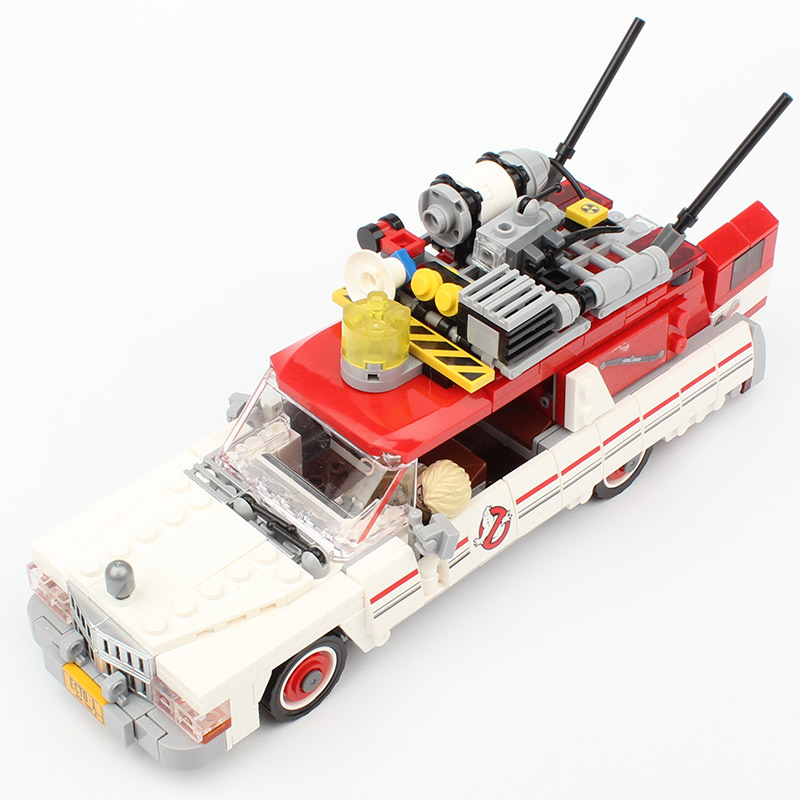 Lepin 16032 Ghostbuste Series Ecto-1 & 2 Ghost Chase 75828 Building Blocks 586Pcs Bricks Educational Toys For Children As Gift lepin 16032 586pcs new genuine movie series the ghostbusters ecto 1
