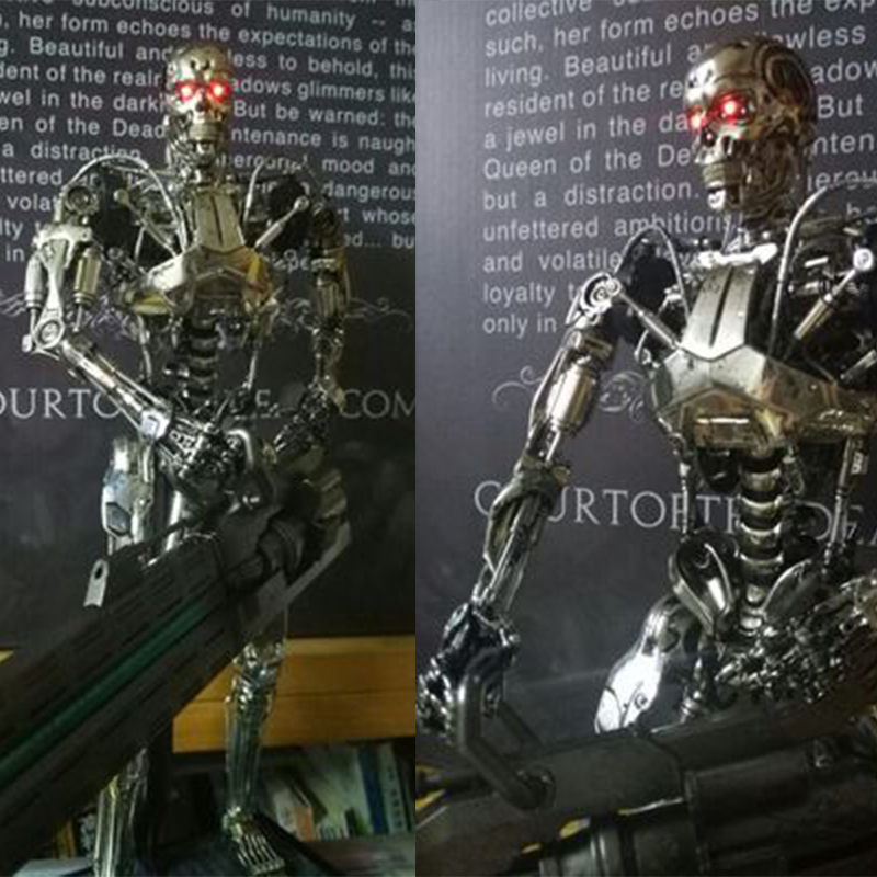 HT Hottoys MMS352 1/6 Terminator Genisys 5 Endoskeleton Model Collection Action Figure New a box книжный клуб 36 6 978 5 98697 352 4