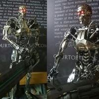 HT Hottoys MMS352 1/6 Terminator Genisys 5 Endoskeleton Model Collection Action Figure Nieuwe een doos