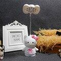Белый кот KT спальня ночники аккумуляторная мини складной СВЕТОДИОДНЫЕ лампы мультфильм Ночная творческий детского чтения